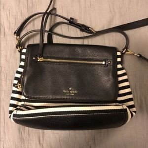 Stripped Kate Spade crossbody bag